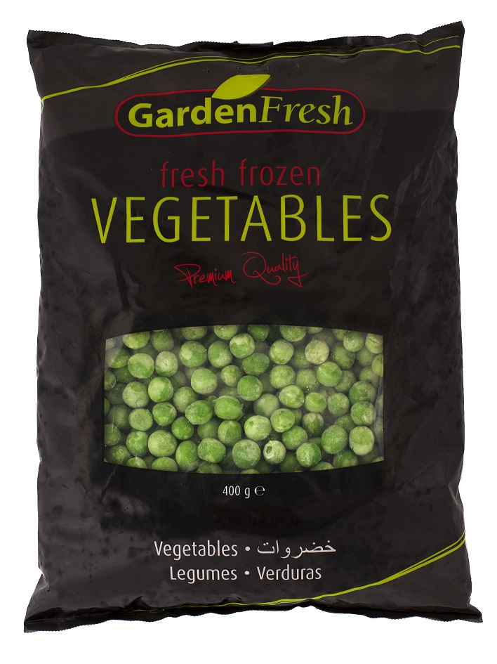 Wholesale frozen peas - Garden Fresh by Kühne & Heitz