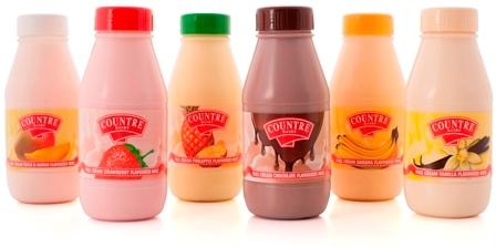 Wholesale dairy flavoured cream milk