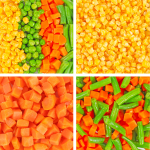 Wholesale frozen vegetables corn beans carrots